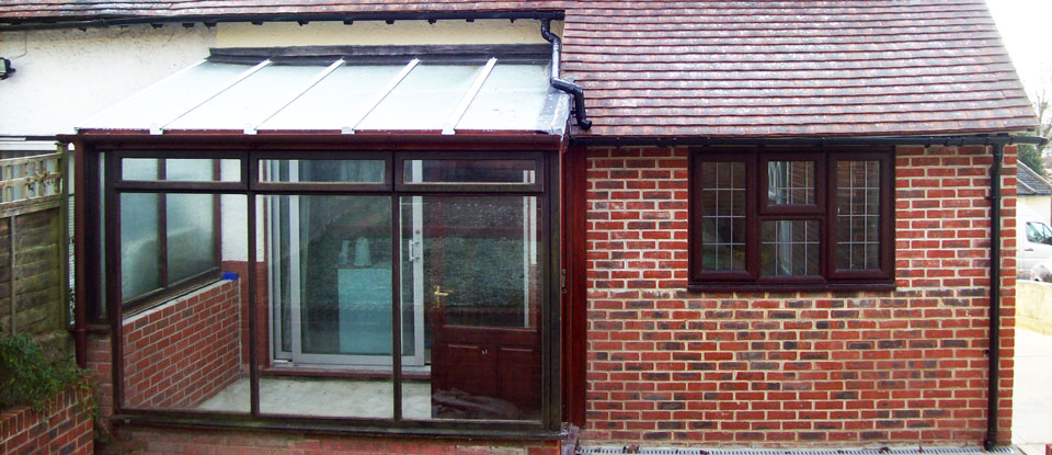 Conservatory & Extension to property